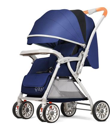 Прогулочная коляска из алюминиевого сплава (blue)