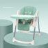 Стульчик для кормления из эко кожи Valdera (Matcha Green)